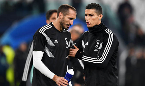 Cristiano Ronaldo Broke My Dreams Many Times: Chiellini