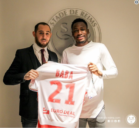 Ghana and Chelsea defender Baba Rahman joins French side Stade Reims