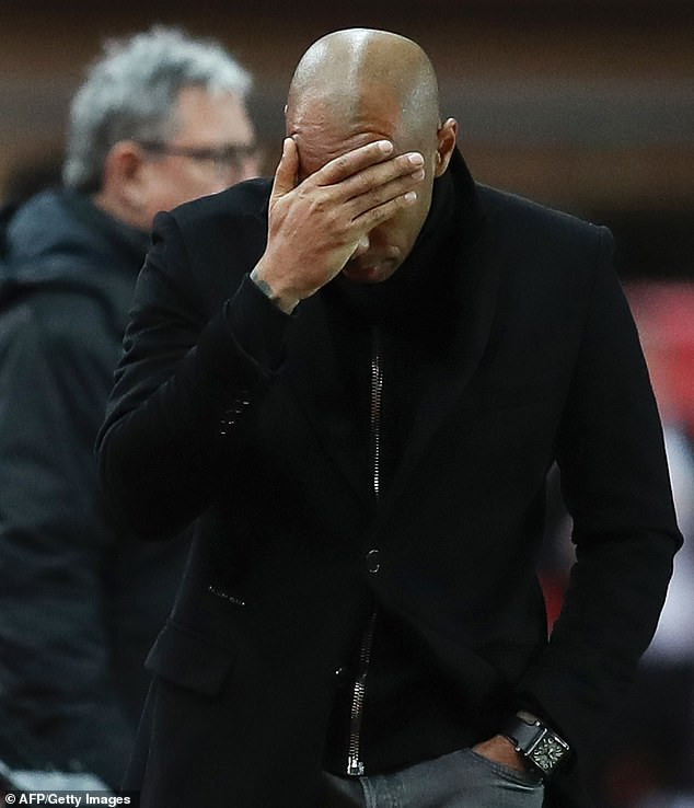 Thierry Henry Set to be Sacked by Monaco 3 Months After Managerial Role