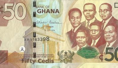 Ghana currency-50ghs