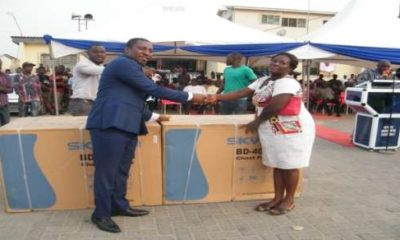 Afenyo-Markin supports constituents with taxi-cabs and chest freezers