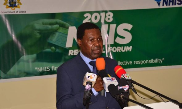National Health Insurance Authority boss leaves office