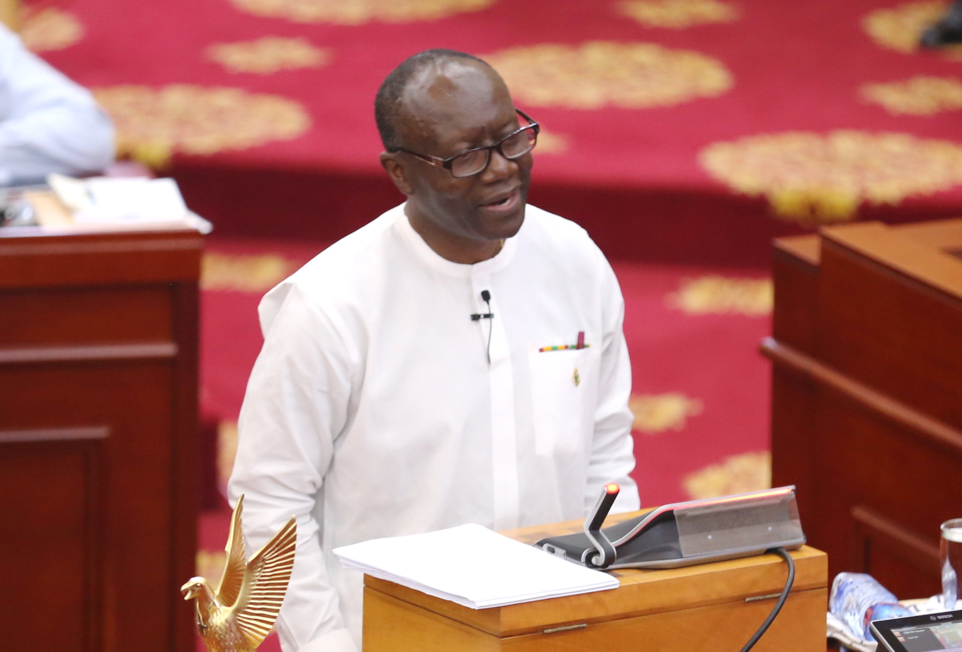 Ofori Atta Presents $28m To Parliament To Purchase Cars For All 275 MPs