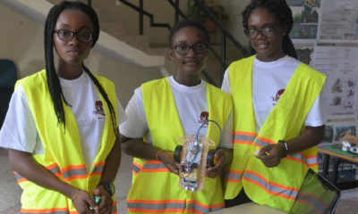 KNUST students build robot that repels mosquitoes
