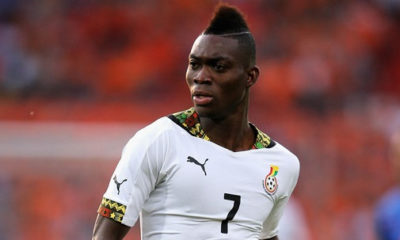 Atsu not perturbed by Black Stars captaincy issues