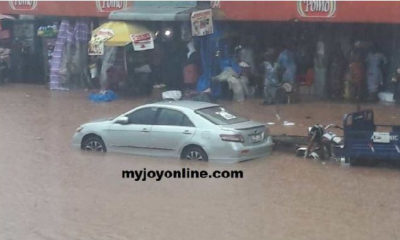 Kumasi floods: One confirmed dead