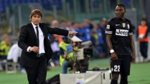 Kwadwo Asamoah reunites with Antonio Conte at Inter Milan