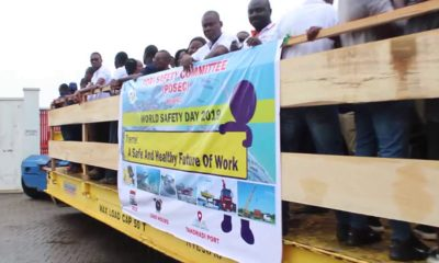 Port of Takoradi mark World Safety Week