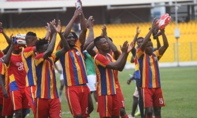 Special Competition: Hearts sink Elmina Sharks to confirm top spot in Zone B