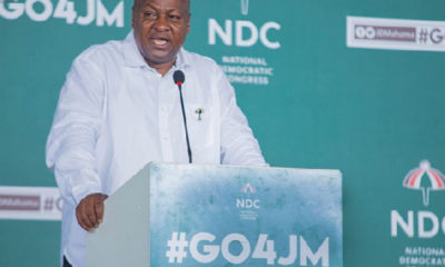 '1 Village 1 Dam now 1 Village 1 Pond' – Mahama mocks government