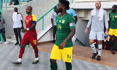 Andre Ayew captains Black Stars for the first time since taking charge