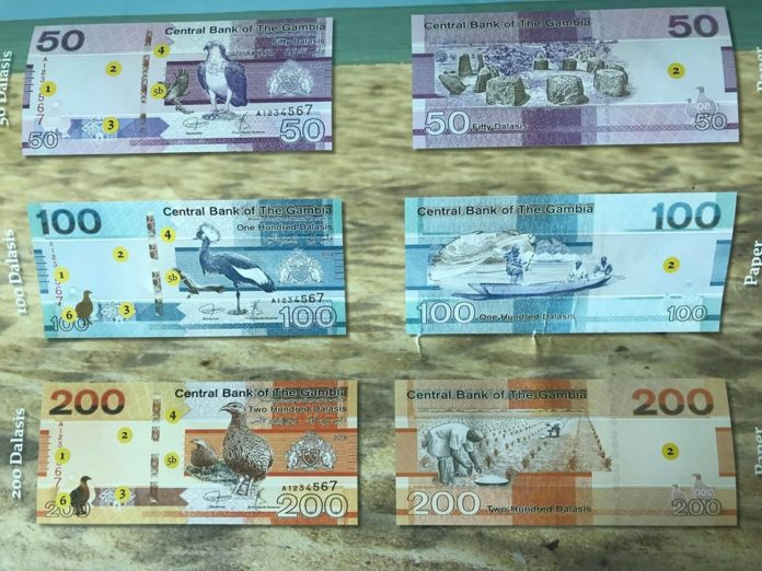 Gambians await new banknotes without Jammeh's portrait