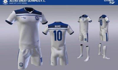 Great Olympics outdoor Strike as new kits sponsor