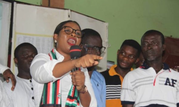 Kroboland: Lawyer defies 'women propaganda'; joins NDC parliamentary race