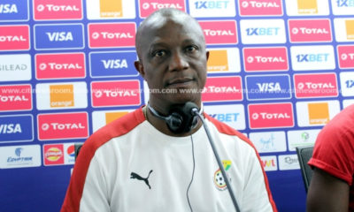 Kwesi Appiah rallies for support ahead of 'important' Tunisia