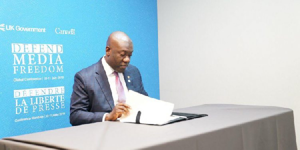Oppong Nkrumah advocates for more investments in training of journalists