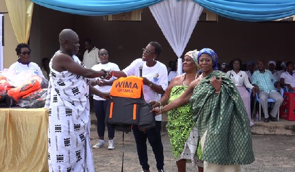 WIMA, Fisheries Ministry reach out to Akwamuman to empower women towards economic dev't