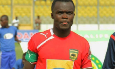 Kotoko legend Amos Frimpong pens emotional farewell to fans