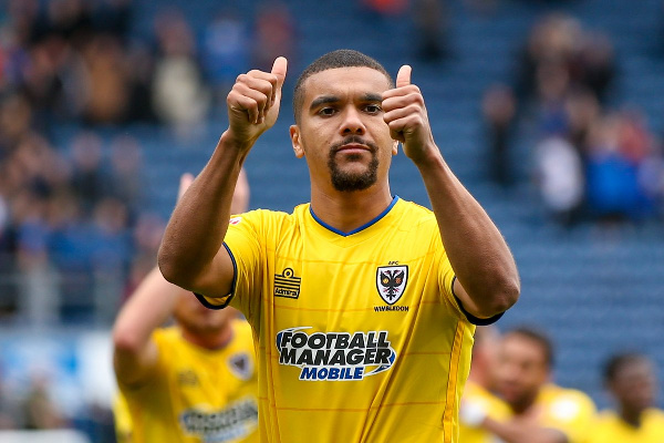 Kwesi Appiah scores as AFC Wimbledon lose to Fleetwood