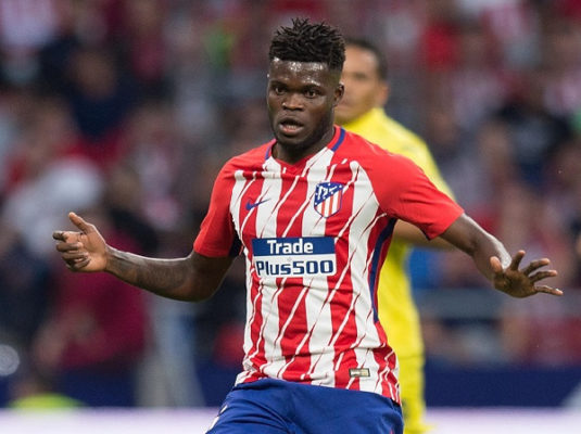 Thomas Partey happy to play first preseason game as Atletico Madrid beat Juventus 2-1