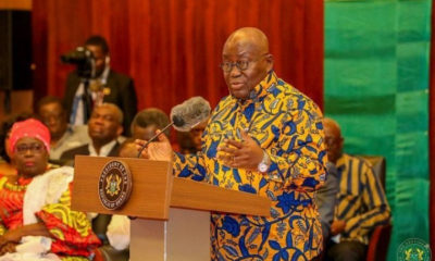 I'm not a clearing agent- Akufo-Addo fights back