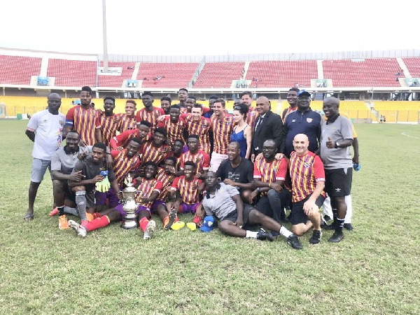 Hearts beat Olympics on penalties to win 2019 Homowo Cup