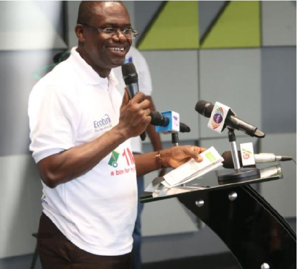 1 million waste bin project launched in Accra