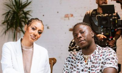 Keri Hilson Reacts After Stonebwoy Revealed That He Was Admiring Her When They Were Working Together