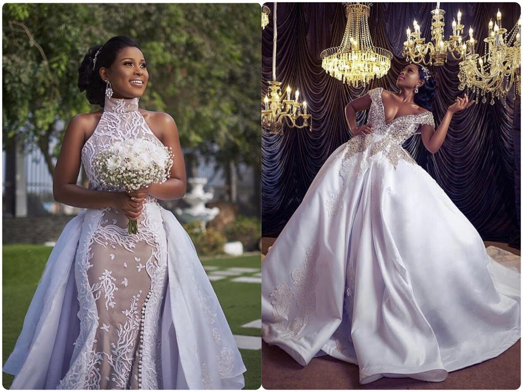 Berla Mundi Raises Marriage Rumours As Photos Of Her In Wedding Gown Hits Online