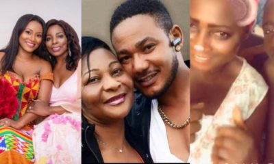 Tracy Sarkcess, Asamoah Gyan, Sister Derby And Other Celebrities Share Loved Up Photos To Celebrate Their Mothers On Mother's Day