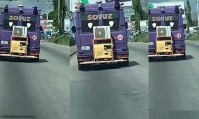 Trotro Driver Fixes Office Air-conditioner In His Car For His Passengers