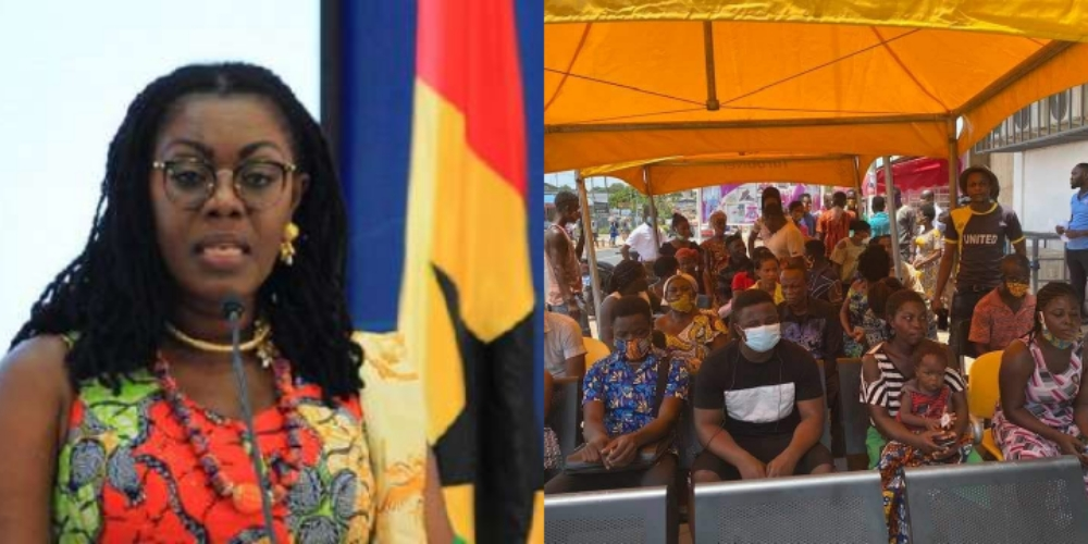 Ursula Owusu Shuts Down MTN Office At Dansoman For Disobeying Social Distancing Rule