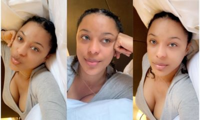 Nikki Samonas Looking Splendid In No Makeup Photos, Leaves Fans In Admiration