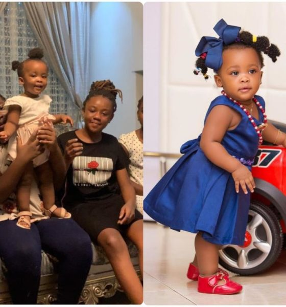 This Adorable Video Of Baby Maxin Singing For Her Mother, Nana Ama McBrown Will Melt Your Heart