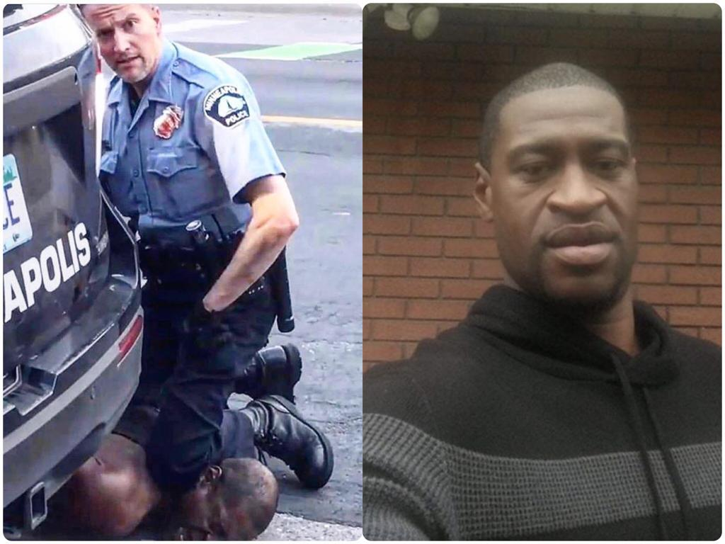 Sad Video: Black Man Dies After US Officer Kneels On His Neck For Over 7 Minutes While Arresting Him