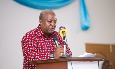 There Is No Majority In Parliament – John Mahama Narrates 'Soldiers' Arm-twisting' In 2020 Elections