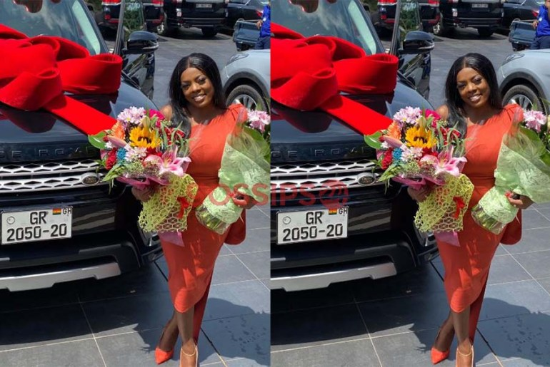 Police Chase Nana Aba Anamoah Over Her Fake Range Rover Number plate