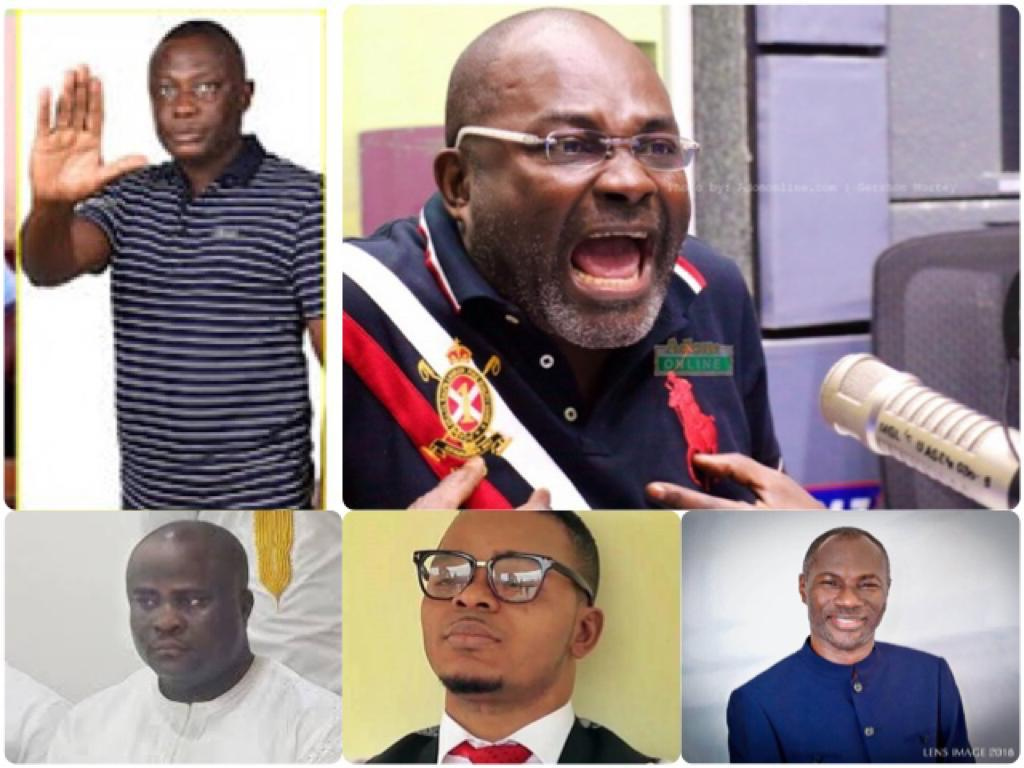 List Of All The Pastors Who Have Gone To Kennedy Agyapong To Apologise