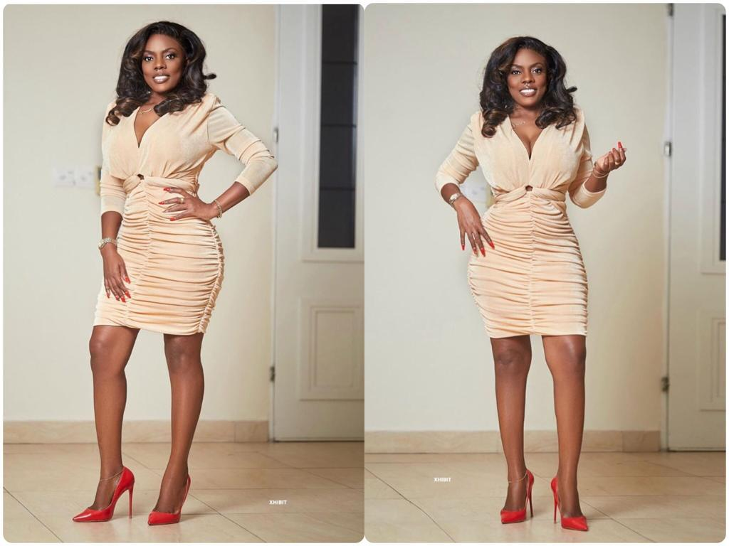Nana Aba Anamoah Finally Reveals The Secret Behind Her Flat Tummy And Her Perfect Looks