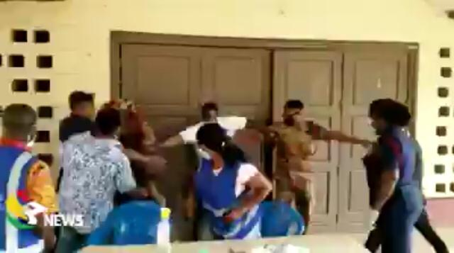 Videos: NPP Primaries Marred By Blows, Slaps And Confusion At Different Polling Stations