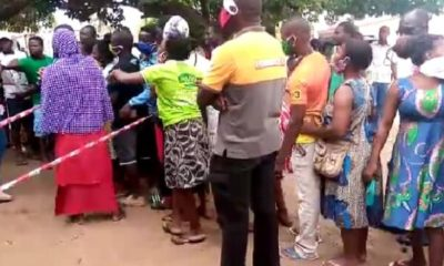Voters' ID Registration On Hold In Ketu South As Registration Kits Stopped Working (Watch)