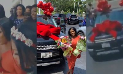 Video: Nana Aba Anamoah Gets Dream Car On Her Birthday