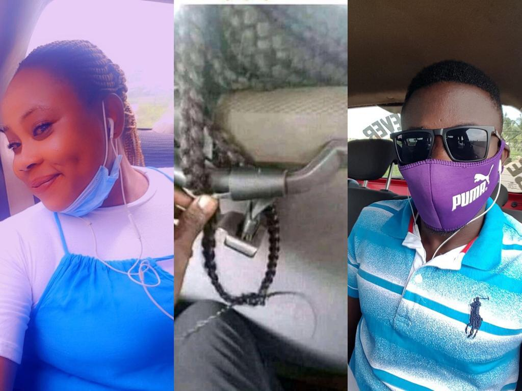 See What A Guy Did To This Lady's Hair In Trotro After She Refused To Give Him Her Phone Number