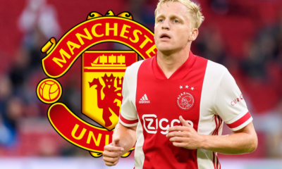 OFFICIAL: Man United sign Donny van de Beek From Ajax