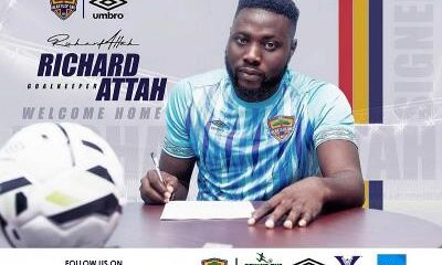 Richard Atta Pens Contact Extension With Hearts of Oak