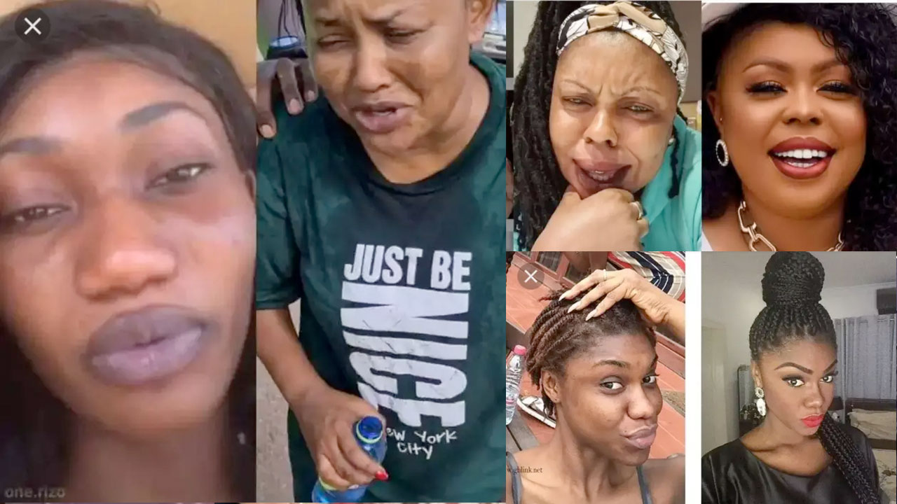 Rare Photos Of Ghanaian Celebrities Without Makeup, Number 5 Will Make You Scream