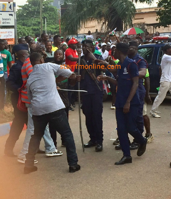 One Dead As NPP And NDC Supporters Clash At Nkrankwanta