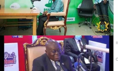 Akufo Addo and His Chair