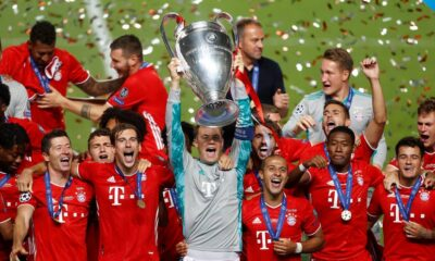 Bayern Wins 6th Champions League Trophy