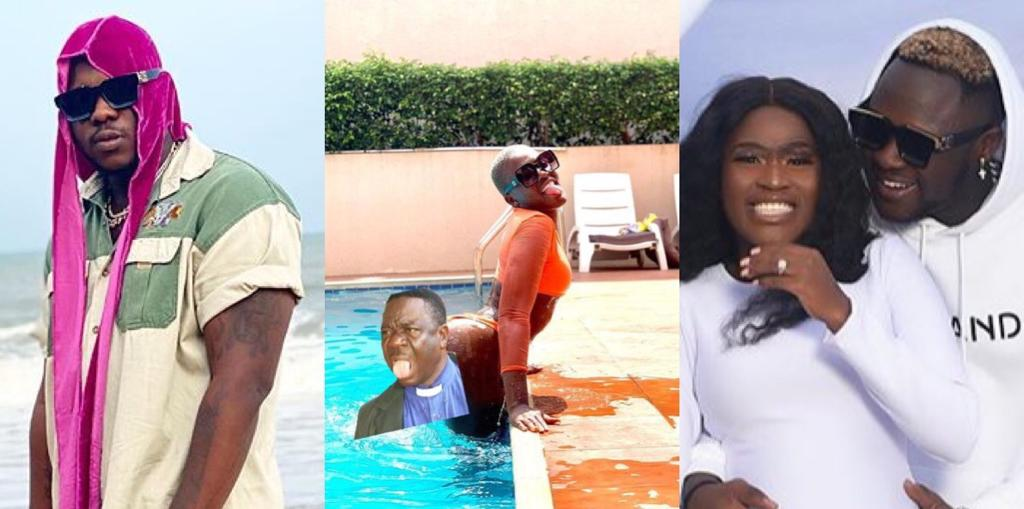 Medikal Puts Fella Makafui's Bortos On Full Display As He Wishes Her A Happy Birthday